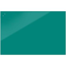 Доска магнитно-маркерная стеклянная 90 120 STANDART, внешн крепл, цв  бирюзовый N090120 d9a23660c72