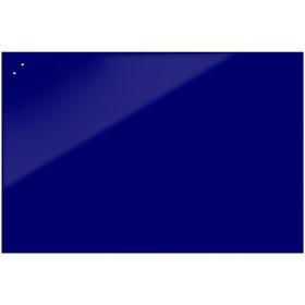 Доска магнитно-маркерная стеклянная 90 120 STANDART, внешн крепл, цв яркий  син 7e4b90e51c7