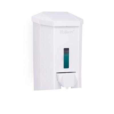 Диспенсер для жидкого мыла, 500 мл, цвет белый