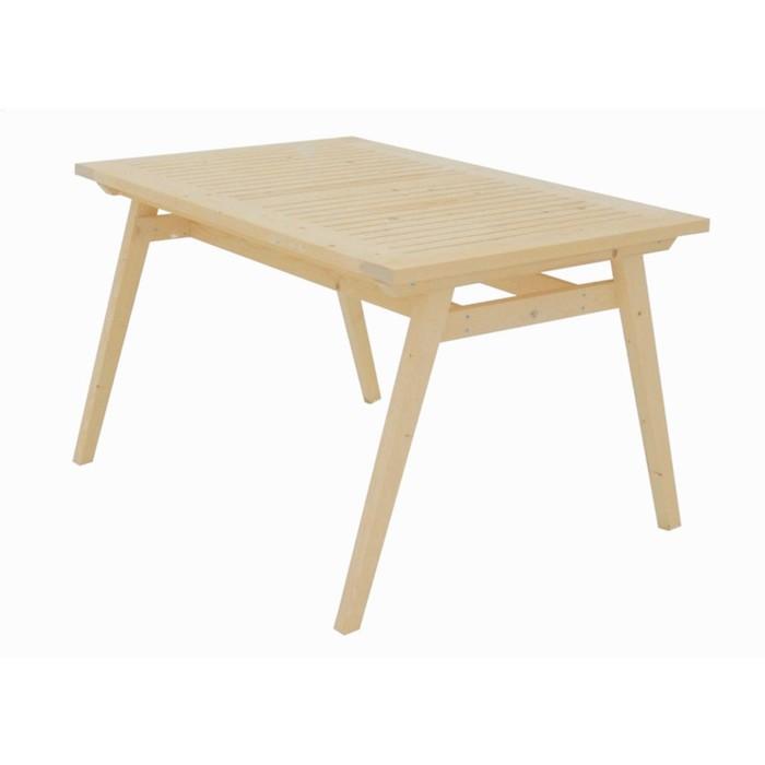Стол, 138 × 85 × 75 см, сосна