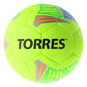 Мяч футб. 'TORRES Rayo Volt' арт.F30735, р.5, 32 панели. PU, 4 под. слоя, руч. сшив., желто-   36949 Ош