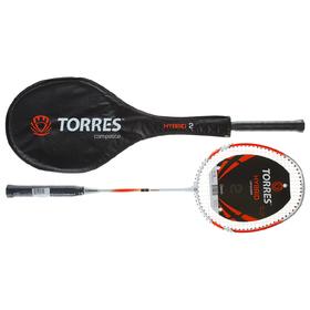 Ракетка для бадминтона TORRES Hybrid 2, (1 шт)
