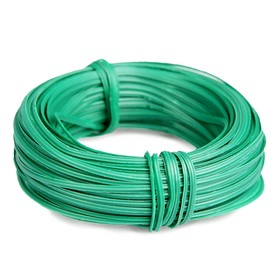 Проволока подвязочная, 30 м, толщина 2 мм, зелёная Ош