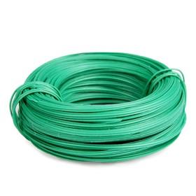 Проволока подвязочная, 20 м, толщина 2 мм, зелёная Ош