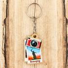 Брелок деревянный в форме фотоаппарата «Волгоград. Родина-мать» 3,3 x 5 см