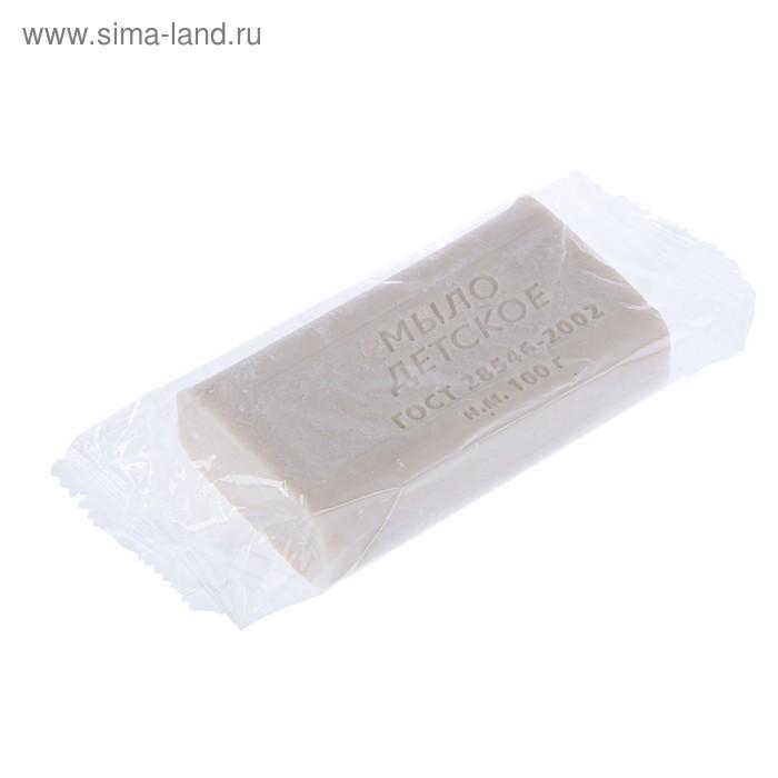 Мыло туалетное «Детское» без обертки,100 гр
