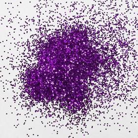 Наполнитель для шара «Блёстки», 0,4 мм, 500 г, цвет тёмно-лиловый