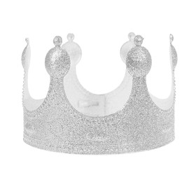 Корона «Царь», цвет серебряный