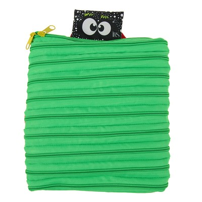 "Рюкзачок детский 20 х 24 х 8 см Ir's ""Зигзаг"", зелёный"