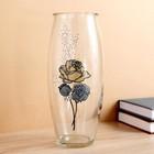 Vase the rose in the prose.glass, d-7cm 10х23 cm