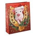 Пакет ламинат вертикальный «Удачи в Новом году», S 11 х 14 х 5 см