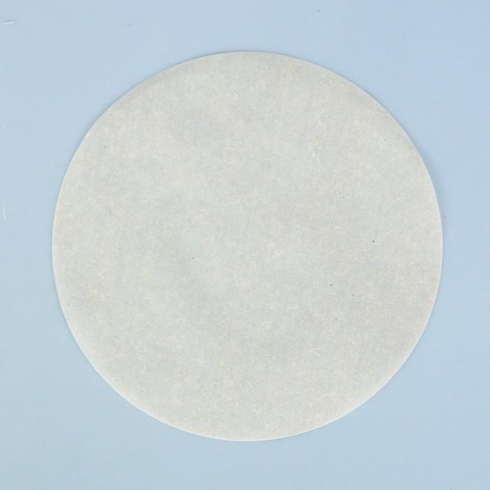 Салфетка для торта круглая, пергамент, 18,9 см - фото 267163190