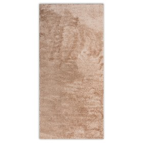 Ковёр Фризе «Шегги», цвет светло-кофейный, 100х60 см