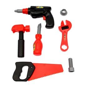 Набор инструментов «Строитель-3», 7 предметов