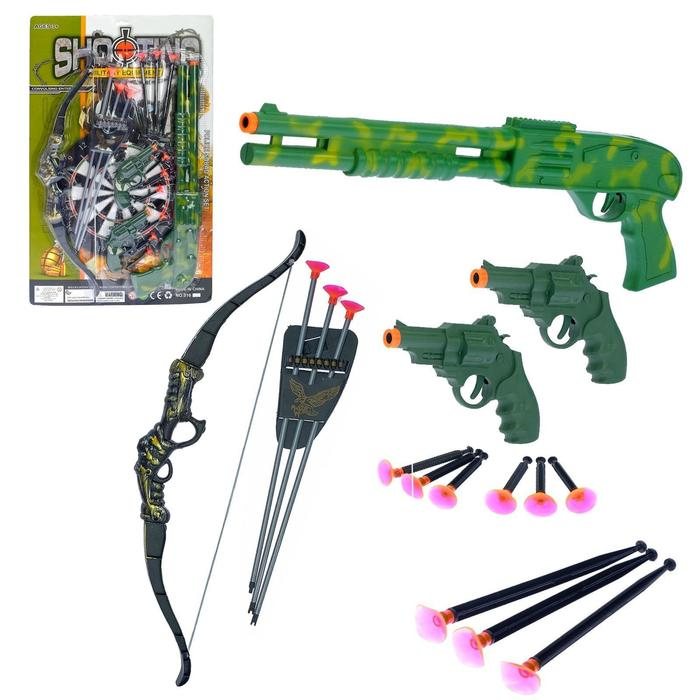 Набор оружия «Рэмбо», 17 предметов
