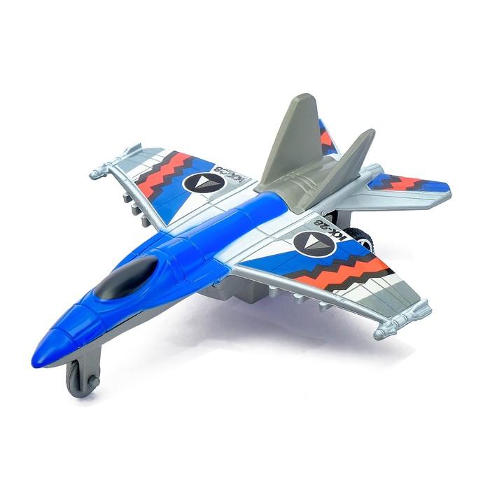 Самолёт инерционный «Истребитель», цвета МИКС