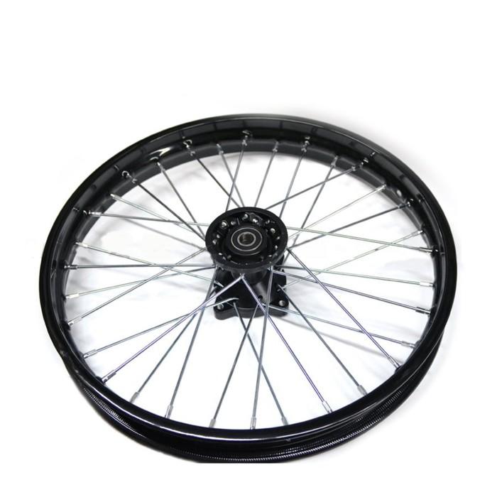 Обод колеса кросс 1.8х17 перед сталь, в сборе