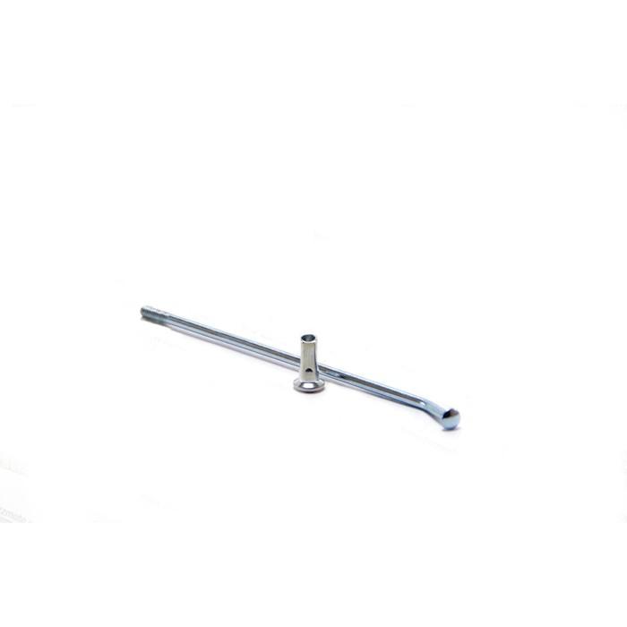 """Спица усиленная 12"""", d=3.5 L132 мм (под ступицу CNC)"""