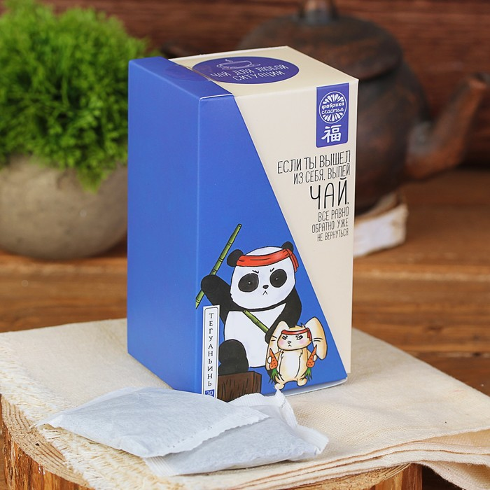 """Чай Те Гуань Инь в пакетиках """"Кунг-фу"""", 25 пакетиков"""