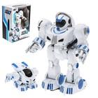 Робот-трансформер радиоуправляемый «Космонавт», программируемый, реагирует на звуки, ходит
