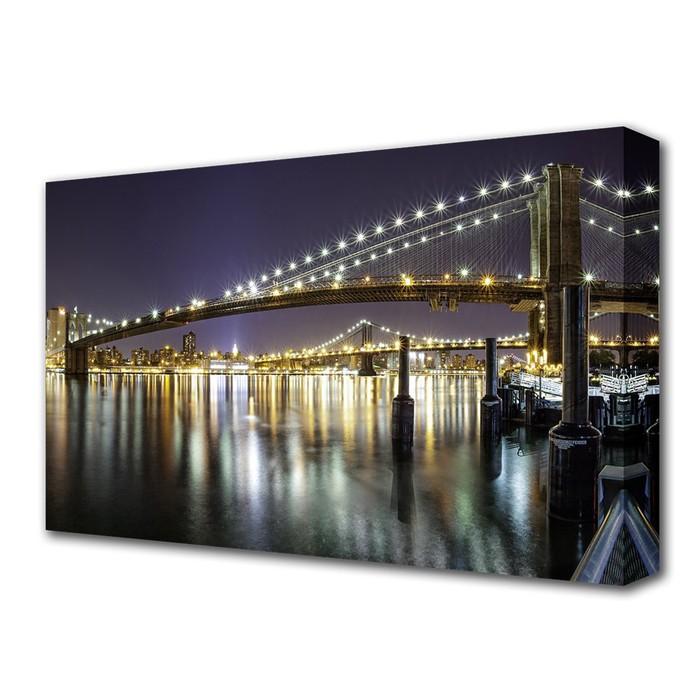 """Картина на холсте """"Бруклинский мост"""""""