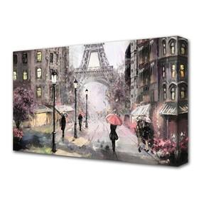 """Картина на холсте """"Воспоминания Парижа"""""""