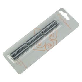Картриджи для перьевой ручки Pierre Cardin, чёрные, 6 штук Ош