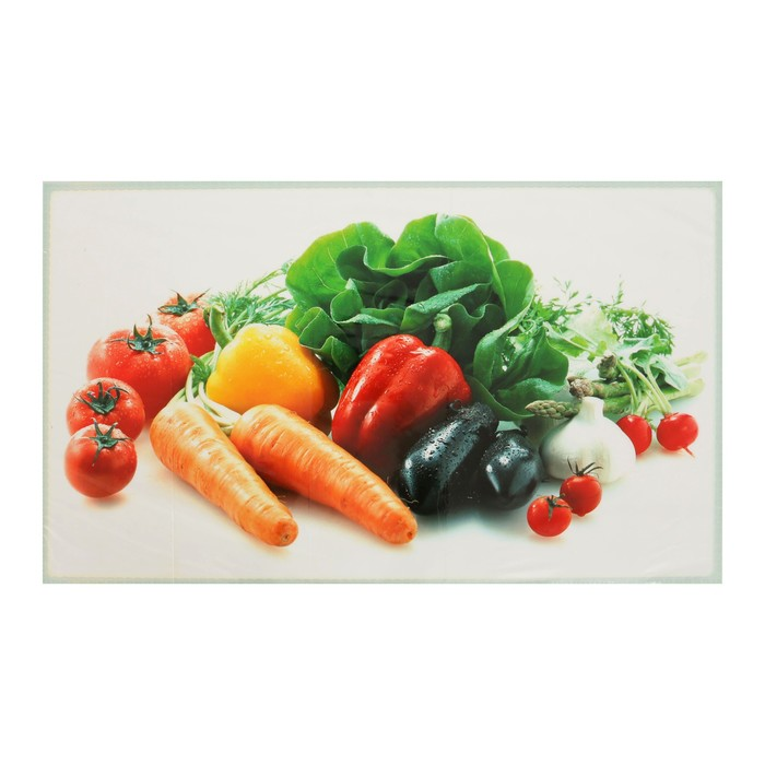 """Наклейка на кафельную плитку """"Овощной натюрморт"""" 75х45 см"""