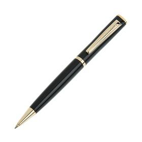 Ручка шариковая поворотная Pierre Cardin Gamme, латунь, чёрная (PC0838BP) Ош