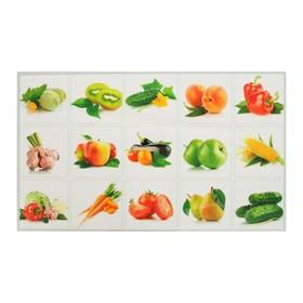 Sticker decorative tile still life of fruit 75*45 cm