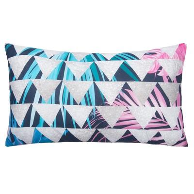 """Decorative pillow """"Ethel"""" Geometry 40х70 cm, 100% cotton, synthetic"""