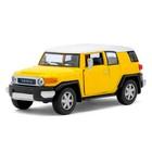 Машина металлическая Toyota FJ Cruiser, масштаб 1:36, открываются двери, инерция, МИКС