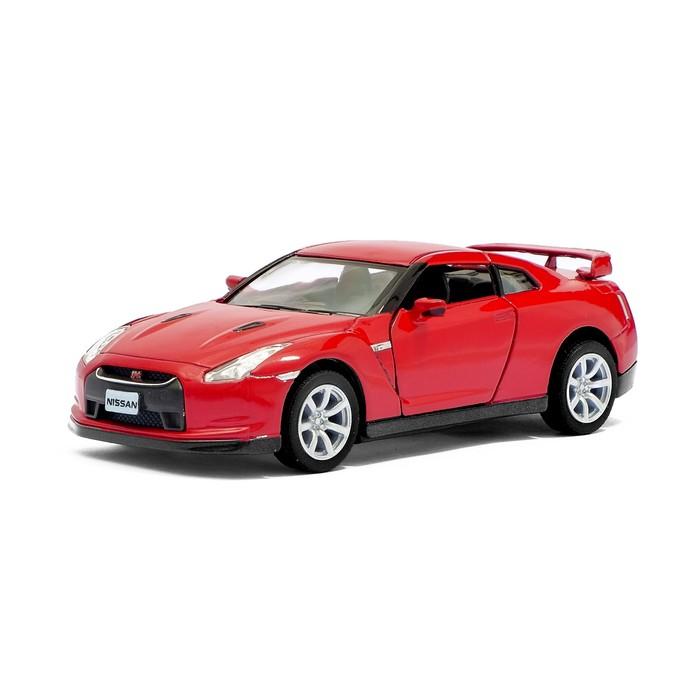 Машина металлическая Nissan GT-R R35, масштаб 1:36, открываются двери, инерция, МИКС