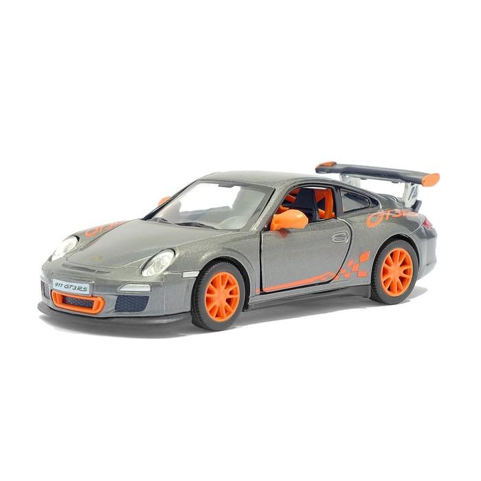Машина металлическая Porsche 911 GT3 RS, масштаб 1:36, открываются двери, инерция, МИКС