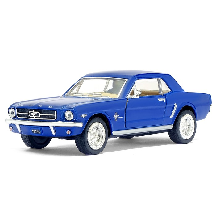 Машина металлическая Ford Mustang, масштаб 1:36, открываются двери, инерция, МИКС