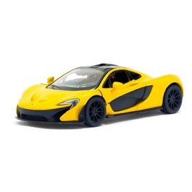 Metal car McLaren P1, scale 1:36, doors open, inertia, MIX