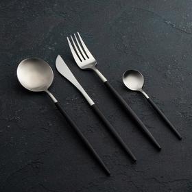 чёрный/серебро