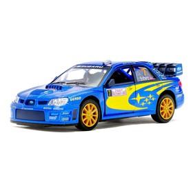 Машина металлическая Subaru Impreza WRC, масштаб 1:36, открываются двери, инерционная
