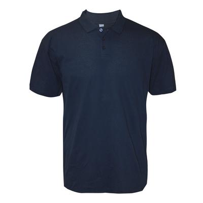 Футболка поло мужская, цвет синий, размер 60