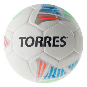 Мяч футб. 'TORRES Rayo White' арт.F30714, р.4, 32 панели. PU, 4 под. слоя, руч. сшив., бело-   36949 Ош