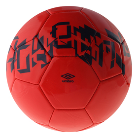Мяч футб. 'UMBRO Veloce Supporter' арт. 20905U-6Q4, р.5,гл. ПВХ, 30 п, бут.к, маш. сш.,красн   36949 Ош