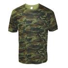 Футболка мужская, цвет зелёный милитари, размер 60