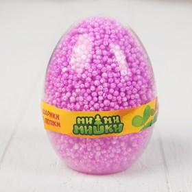 Шариковый пластилин Мимимишки с блестками незастывающий в яйце 7486-MIMI Ош