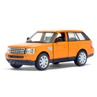 Машина металлическая Range Rover Sport, масштаб 1:38, открываются двери, инерция, МИКС