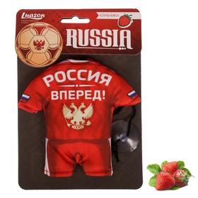 Ароматизатор в авто текстильный футбольная форма 'Клубника', 8 х 6 см Ош