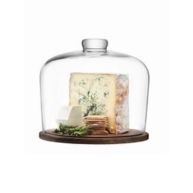 Блюдо со стеклянным куполом City, d=32 см