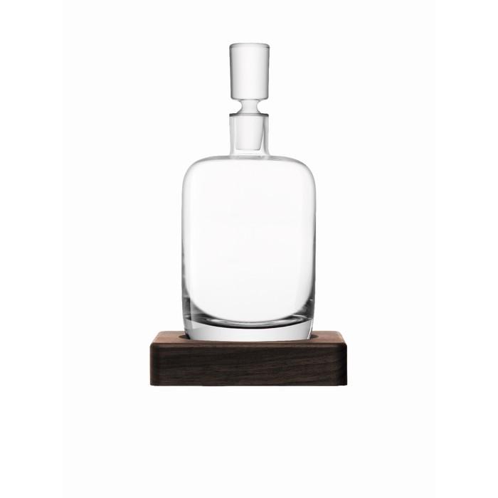 Декантер Renfrew Whisky с деревянной подставкой, 1,1 л