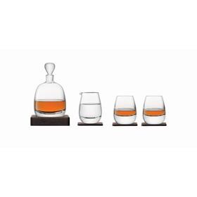 Набор для виски с деревянными подставками Islay Whisky