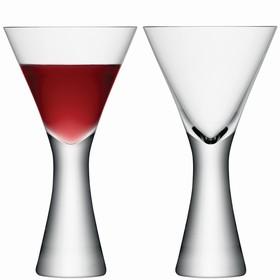 Набор из 2 бокалов для вина Moya, 395 мл, прозрачный