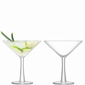 Набор из 2 бокалов для коктейлей Gin, 220 мл